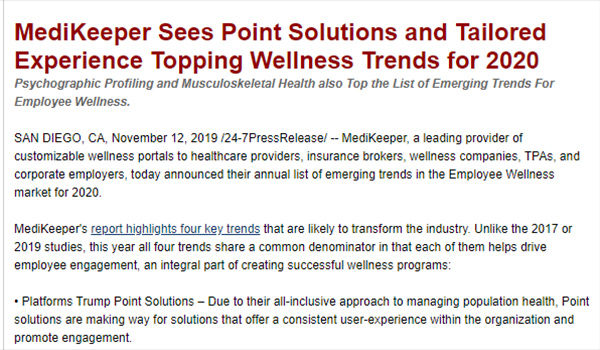 wellness trends 2020
